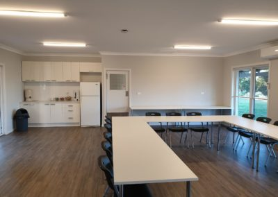 Photo of Lookout Mountain Retreat Conference room from front side looking at kitchen