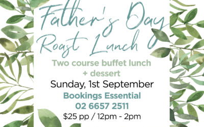 Father's Day Roast Lunch